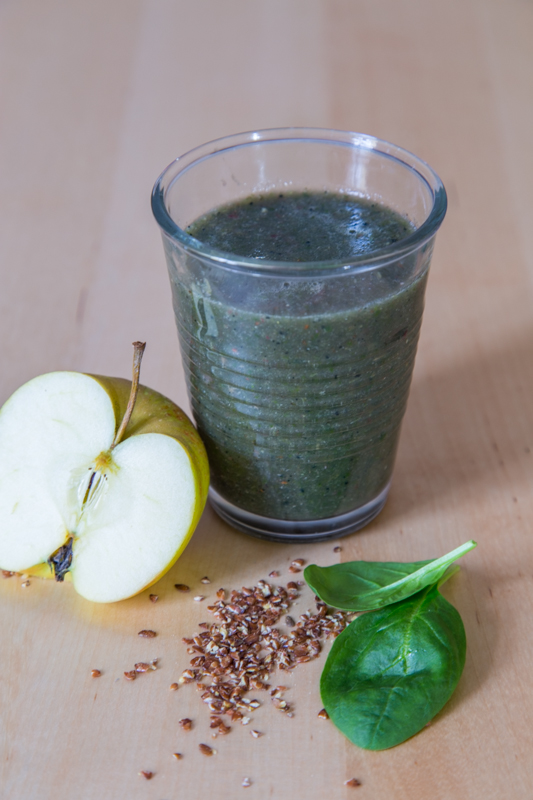 green citrus spinach monster